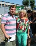 Распорядитель ринга Вит. Костюченко и эксперт FCI Л. Лаврова