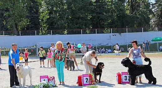 Призёры КЧК-САС в Нальчике 6.09.2009